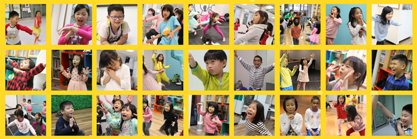 兒童幼兒英語戲劇課後才藝課程自信表達