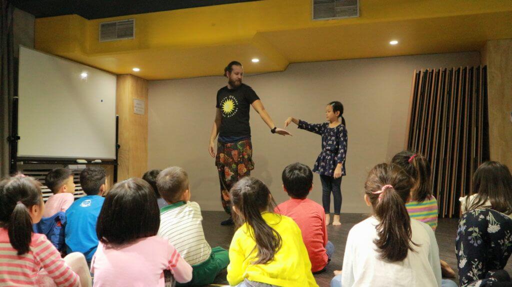 幼兒美語兒童英語演講及戲劇